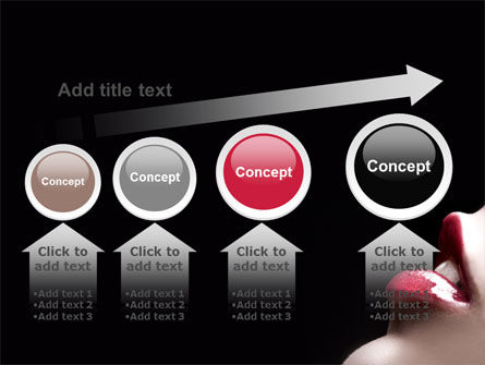 Lips PowerPoint Template Slide 13