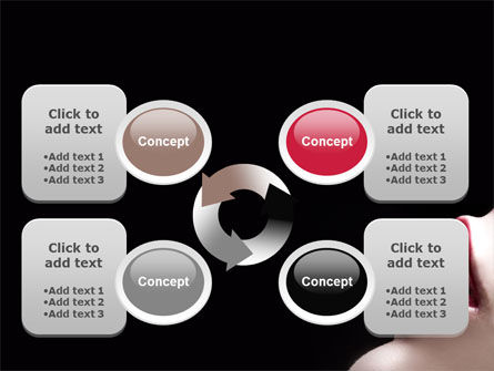 Lips PowerPoint Template Slide 9