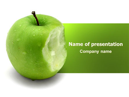 Apple Bite PowerPoint Template