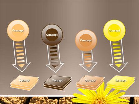 Desert Flower Free PowerPoint Template Slide 8