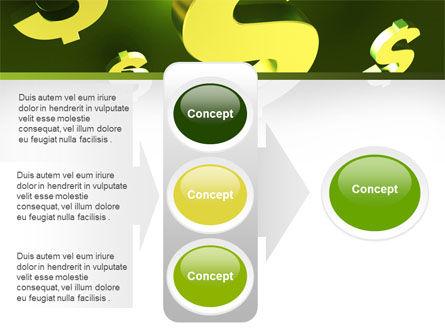 Dollar Exchange PowerPoint Template Slide 11