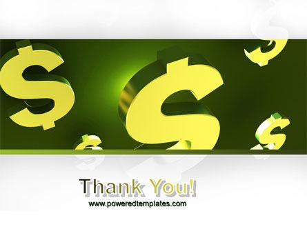 Dollar Exchange PowerPoint Template Slide 20