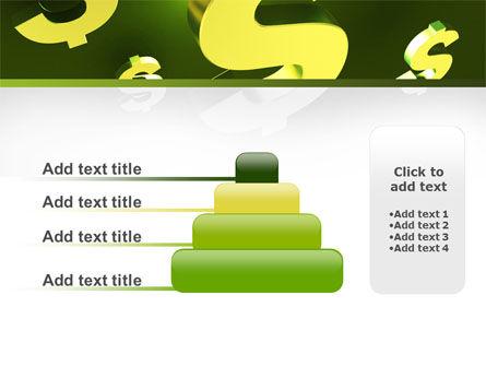 Dollar Exchange PowerPoint Template Slide 8