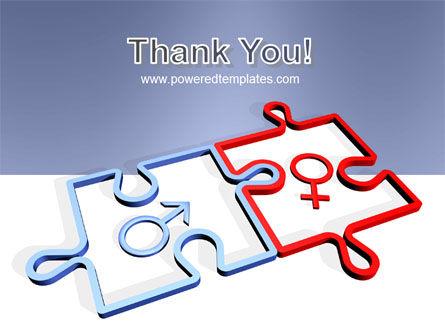 Gender Relations PowerPoint Template Slide 20