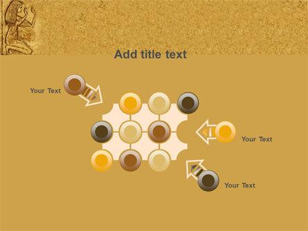 Egyptian Engraving PowerPoint Template Slide 10