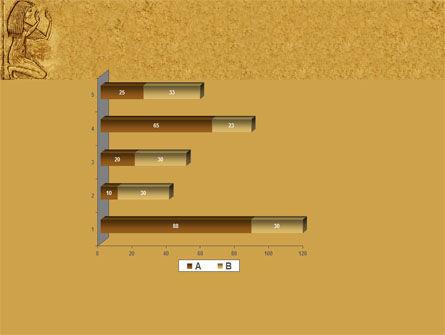 Egyptian Engraving PowerPoint Template Slide 11