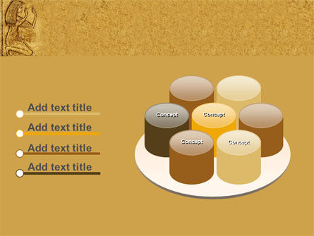 Egyptian Engraving PowerPoint Template Slide 12