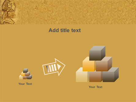 Egyptian Engraving PowerPoint Template Slide 13