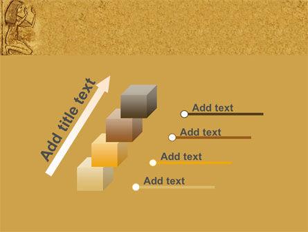 Egyptian Engraving PowerPoint Template Slide 14