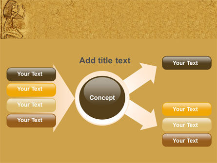 Egyptian Engraving PowerPoint Template Slide 15
