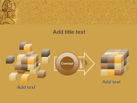 Egyptian Engraving PowerPoint Template Slide 17