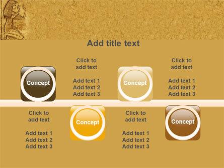 Egyptian Engraving PowerPoint Template Slide 18