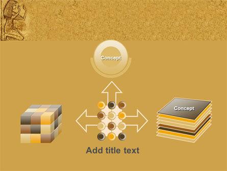 Egyptian Engraving PowerPoint Template Slide 19