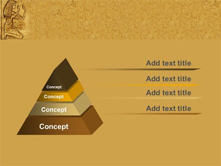 Egyptian Engraving PowerPoint Template Slide 4