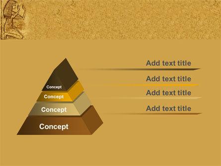 Egyptian Engraving PowerPoint Template, Slide 4, 04908, Education & Training — PoweredTemplate.com