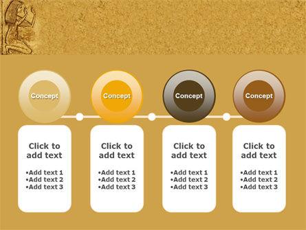 Egyptian Engraving PowerPoint Template Slide 5