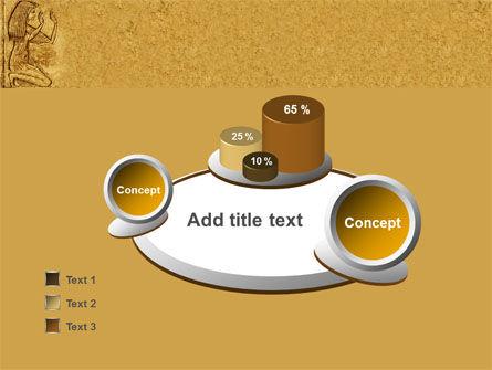 Egyptian Engraving PowerPoint Template Slide 6