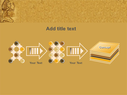 Egyptian Engraving PowerPoint Template Slide 9