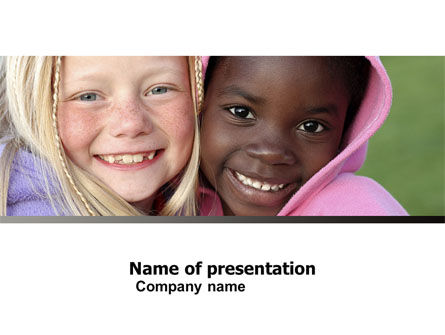 National Diversity PowerPoint Template, 04910, People — PoweredTemplate.com