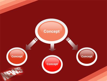 News PowerPoint Template, Slide 4, 04913, Careers/Industry — PoweredTemplate.com