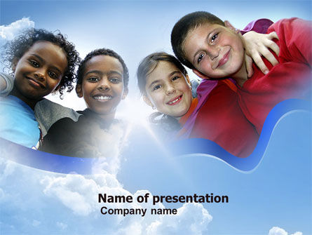 Cultural Diversity PowerPoint Template, 04914, Education & Training — PoweredTemplate.com
