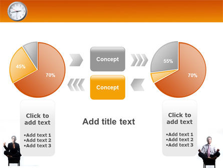 Working Hours PowerPoint Template Slide 16