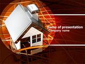 Construction: Modèle PowerPoint de planification de la maison #04917