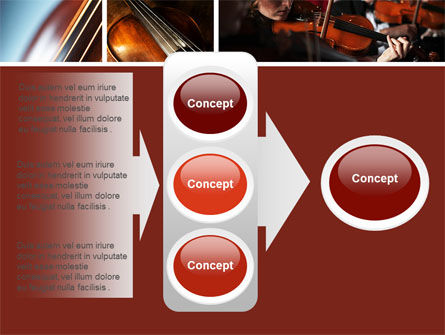 Violin Collage PowerPoint Template Slide 11