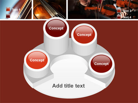 Violin Collage PowerPoint Template Slide 12