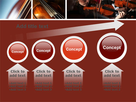 Violin Collage PowerPoint Template Slide 13