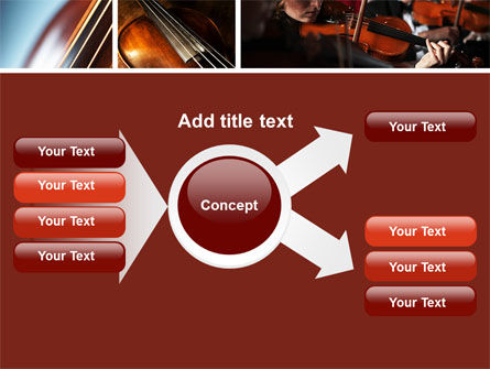 Violin Collage PowerPoint Template Slide 14