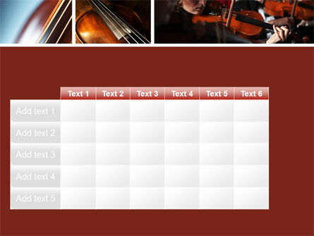 Violin Collage PowerPoint Template Slide 15