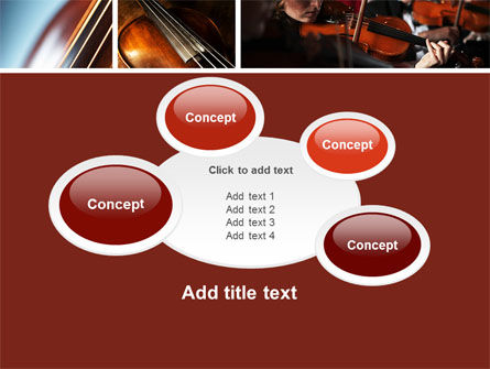 Violin Collage PowerPoint Template Slide 16