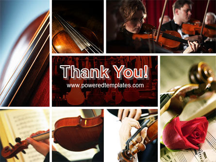 Violin Collage PowerPoint Template Slide 20
