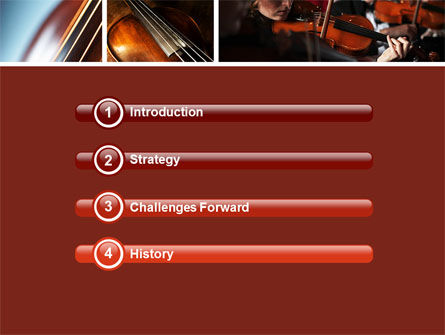 Violin Collage PowerPoint Template Slide 3
