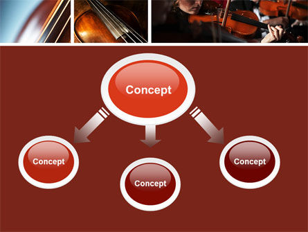 Violin Collage PowerPoint Template Slide 4