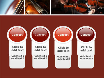 Violin Collage PowerPoint Template Slide 5