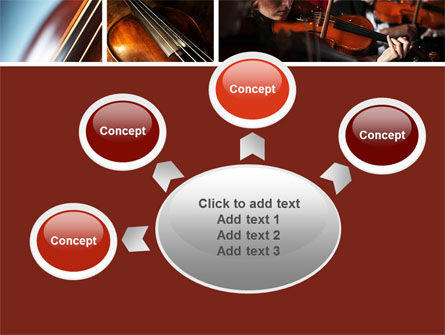 Violin Collage PowerPoint Template Slide 7