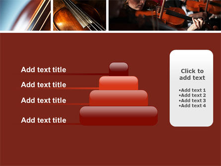 Violin Collage PowerPoint Template Slide 8