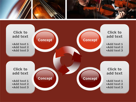 Violin Collage PowerPoint Template Slide 9