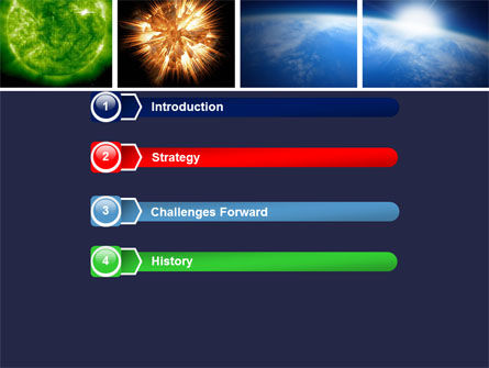 Planet Glow PowerPoint Template, Slide 3, 04921, Technology and Science — PoweredTemplate.com