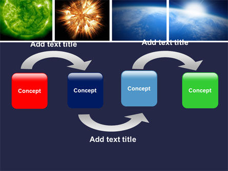 Planet Glow PowerPoint Template, Slide 4, 04921, Technology and Science — PoweredTemplate.com