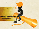 Education & Training: Occupation Choice PowerPoint Template #04922