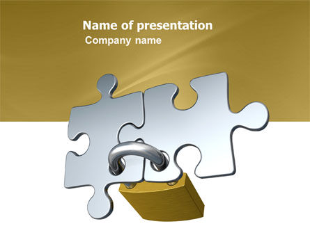 Consulting: Connection PowerPoint Template #04925