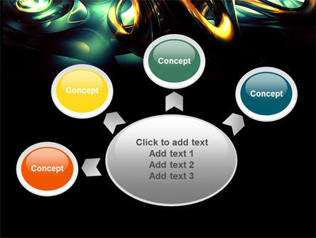 Fantastic Dark PowerPoint Template Slide 7