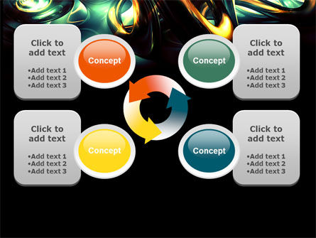 Fantastic Dark PowerPoint Template Slide 9