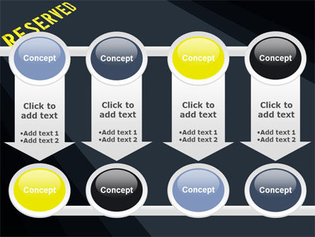 Reserved PowerPoint Template Slide 18