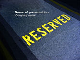 Business Concepts: Reserved PowerPoint Template #04929