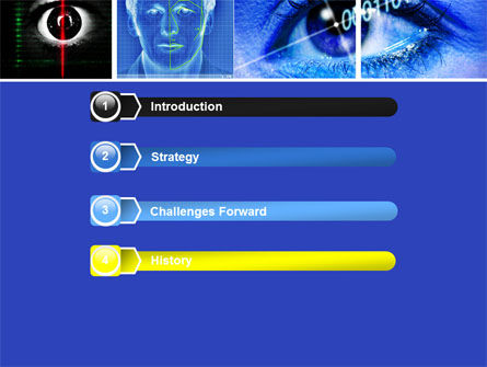 Biometrics PowerPoint Template, Slide 3, 04932, Technology and Science — PoweredTemplate.com