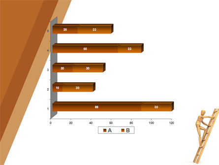 Climbing Up On the Ladder PowerPoint Template Slide 17